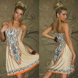 Dresses & Skirts - 🆕 WOMAN'S STRAPLESS DRESS